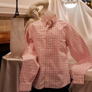 Great Lt. Pink A&F plaid shirt, one of my favs